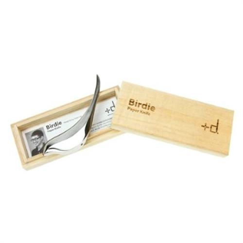 デスクの上を彩る小鳥さん「+d バーディー ペーパーナイフ」003