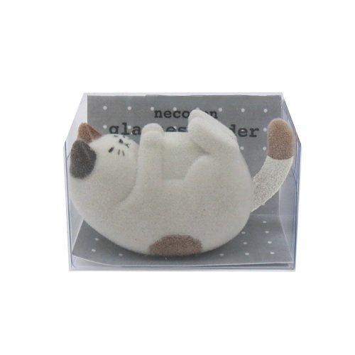 かわいいネコがごろんとメガネをキープ「DECOLE ネココロ ねころんメガネホルダー」004