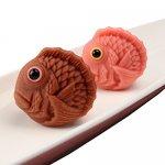 ショコラ風味とさくら風味 かわいい鯛の上生菓子「ショコラ鯛」