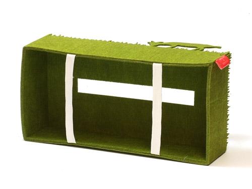 ヤギさんがティッシュを食べてるように見えちゃうティッシュケース「tissuecase mushamusha」002