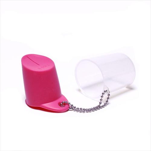 逆さにしてもこぼれない不思議なキャップ ペットボトル用キャップ「KissII シリコンマルチキャップ」002