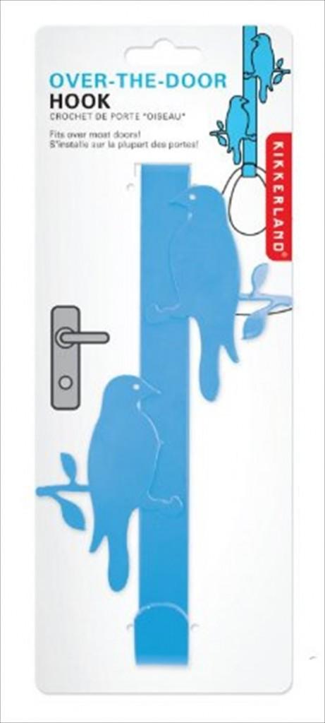 青い鳥がデッドスペースを有効活用「Kikkerland バードフック」001