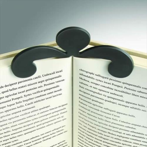 かわいいマッスルマンが読書のお手伝い「リトルブックホルダー」001