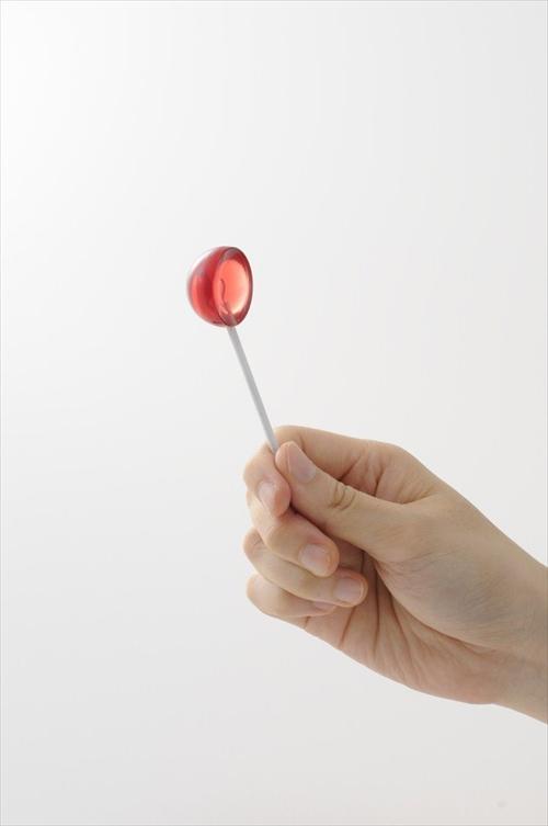 飴?いいえティースプーンです ロリポップの形をしたスプーン「+d キャンディースプーン」005