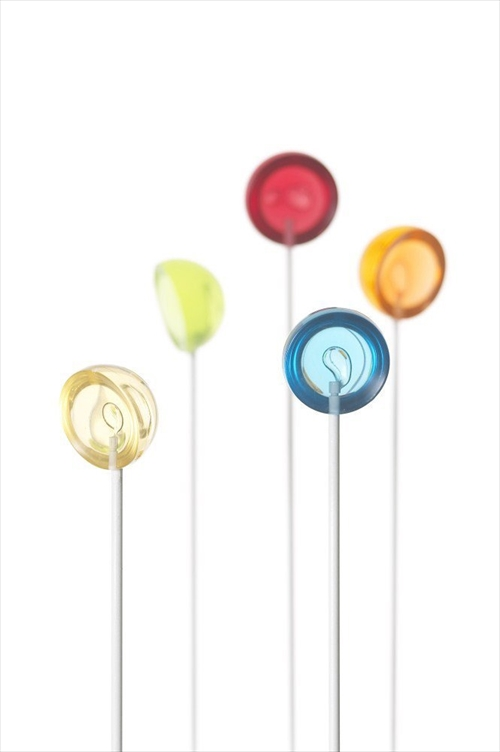 飴?いいえティースプーンです ロリポップの形をしたスプーン「+d キャンディースプーン」002