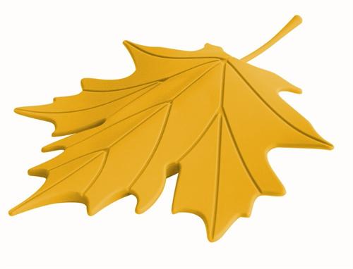 大きな落ち葉がドアを固定「QUALY ドアストッパー Autumn」003