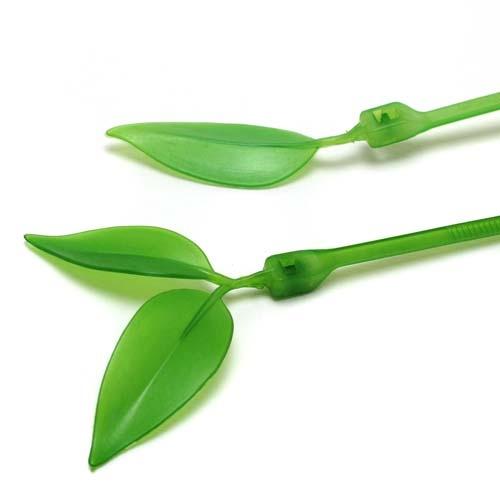 ケーブルがカワイイ木の枝に変身「Leaf Tie」004