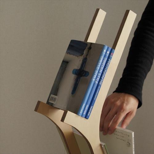 本をインテリアのように飾れる本棚「Eau BRANCH」001