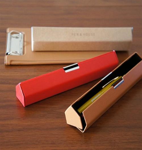 ペンが暮らすペンの住処 ハウス型のペンケース「ハイタイド PEN&HOUSE」002