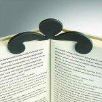 かわいいマッスルマンが読書のお手伝い「リトルブックホルダー」