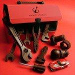 クルマや機械が好きな人にあげたら喜ばれそう「神戸フランツ 工具チョコレート」