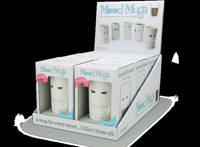 気分に合わせてチョイス 表情豊かなマグカップ MOOD MUGS001