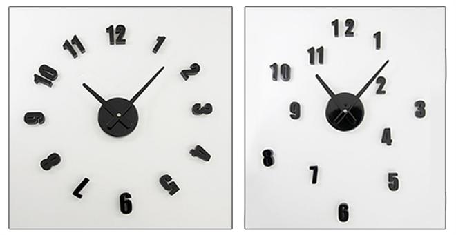 文字盤を自由に配置できる壁に貼り付ける時計 SEPARATE CLOCK MINI001