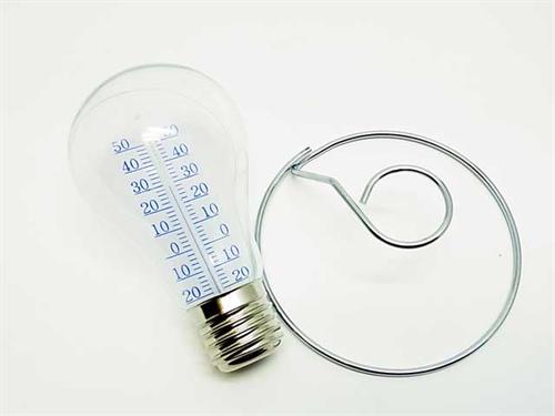 光るんじゃなくて計るんです 電球型の温度計001
