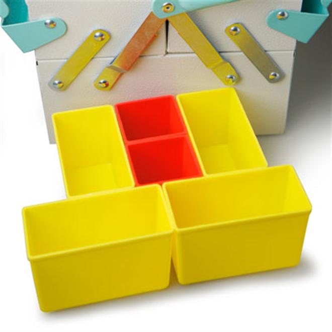 工具箱なんだけどインテリア感覚で使えるカラーリング Tool Box Mint001