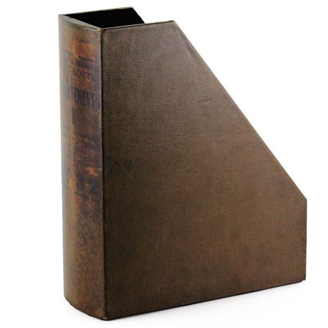 読み古した洋書のようなファイルホルダー プエブコ001