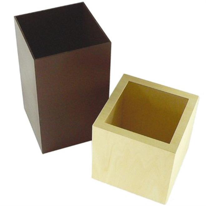 ゴミ袋をスッキリ隠すゴミ箱 W CUBE ダストボックス001