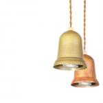 鳴るのではなく光る釣り鐘のようなペンダントライト  APROZ DARTH