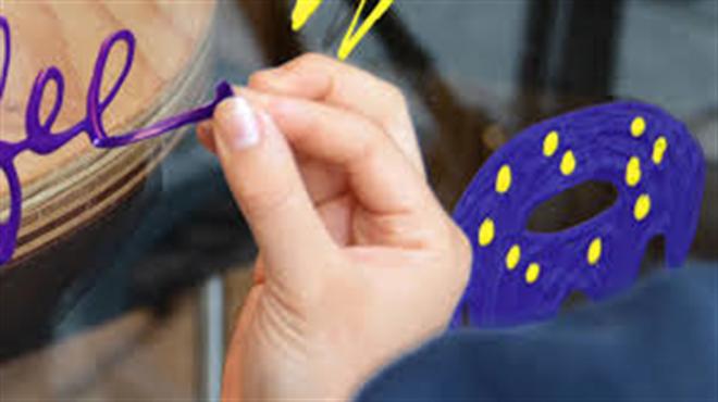 """書いて""""はがせる""""新感覚な塗料 マスキングカラー ペンタイプ002"""