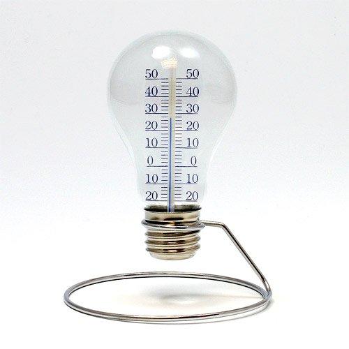光るんじゃなくて計るんです 電球型の温度計002