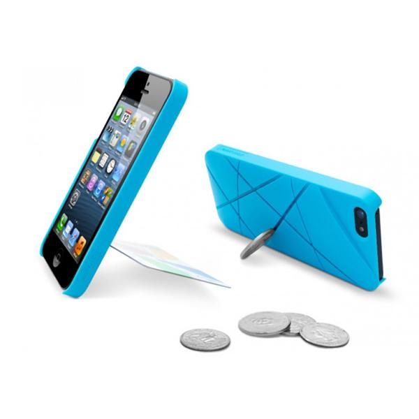 スリットにコインやカードを差し込めばスタンドに クールなiPhone5/5sケース002