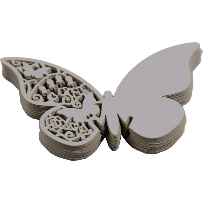 蝶の羽根に残すメッセージ 美しい蝶のメッセージカード002