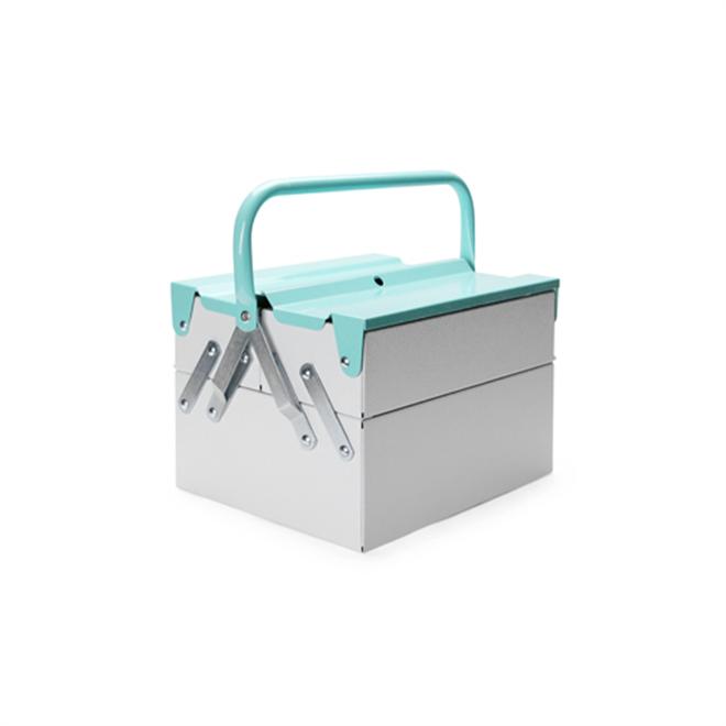 工具箱なんだけどインテリア感覚で使えるカラーリング Tool Box Mint002