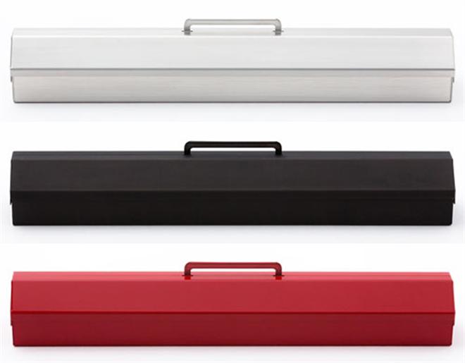 スリムな工具箱みたいなペンケース ベンディン 金属ペンケース002