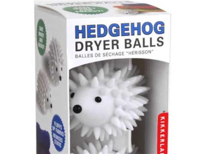 キュートなハリネズミが洗濯のお手伝い KIKKERLAND ヘッジホッグ ドライヤーボール002