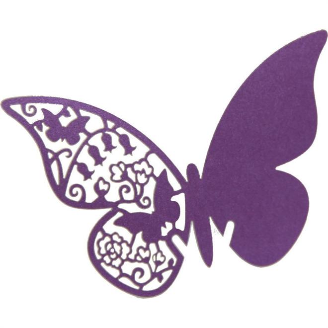 蝶の羽根に残すメッセージ 美しい蝶のメッセージカード003