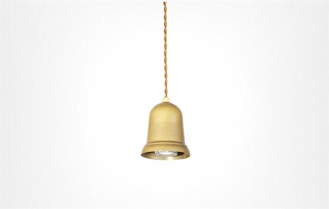 鳴るのではなく光る釣り鐘のようなペンダントライト  APROZ DARTH003
