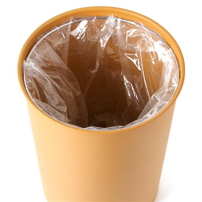 ゴミ袋を隠せる丸いゴミ箱 COLOR & WOOD DUST BOX003