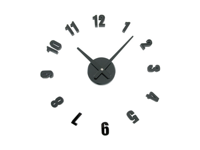 文字盤を自由に配置できる壁に貼り付ける時計 SEPARATE CLOCK MINI004