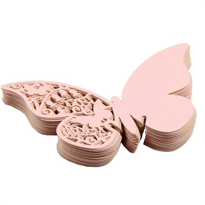 蝶の羽根に残すメッセージ 美しい蝶のメッセージカード004