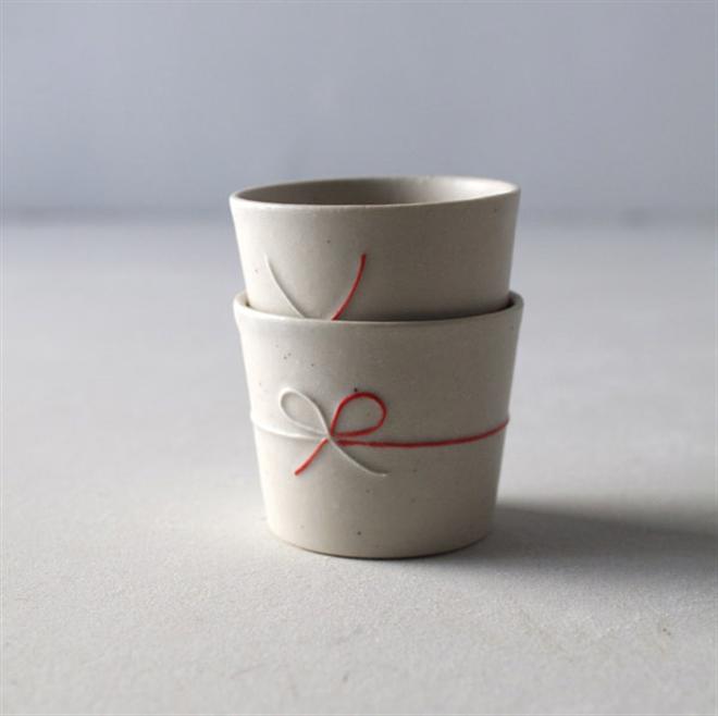 日本の伝統「水引」が入ったコップとおちょこ JUNIO mizuhiki004