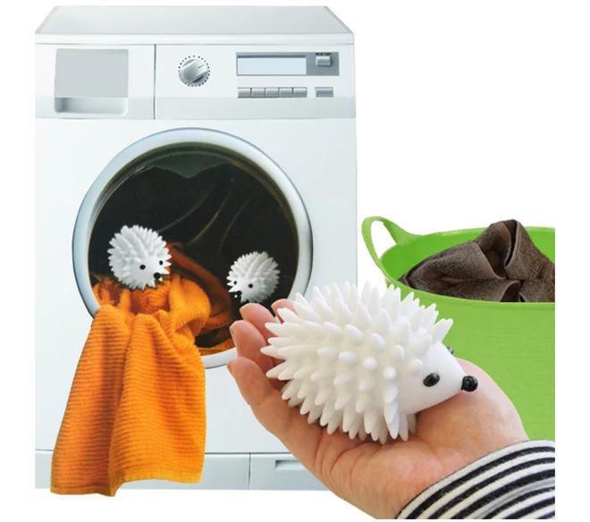 キュートなハリネズミが洗濯のお手伝い KIKKERLAND ヘッジホッグ ドライヤーボール004