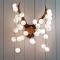 コットンが柔らかくするライトの灯り コットンボールランプ004