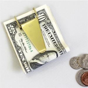 お金もカードも挟めるマネークリップ キャンディ デザイン&ワークス ''HOPPER'' マネークリップ005