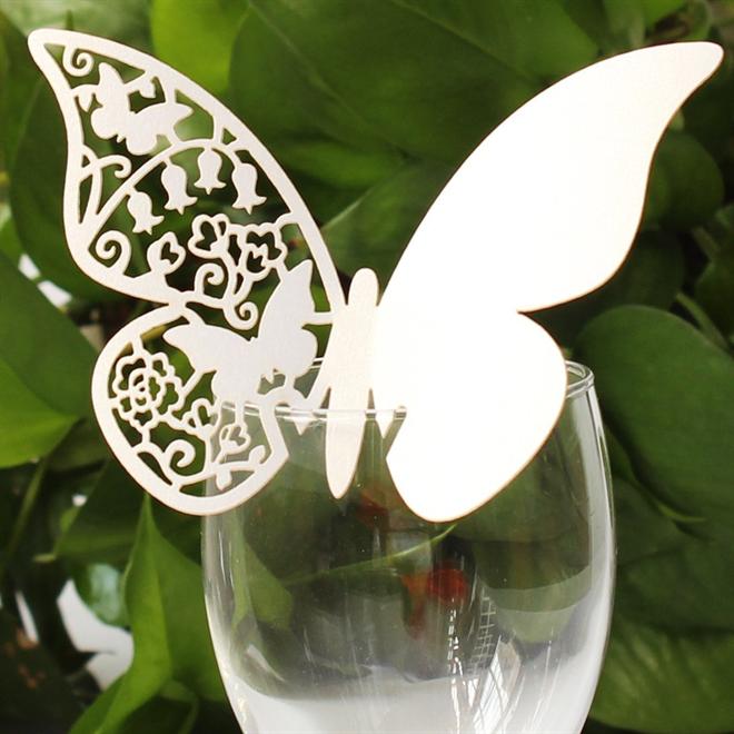 蝶の羽根に残すメッセージ 美しい蝶のメッセージカード005