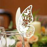 蝶の羽根に残すメッセージ 美しい蝶のメッセージカード