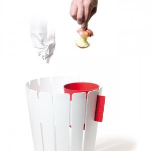 ゴミ箱にひっかける小さなゴミ箱 コンスタンチン バスケットビン006