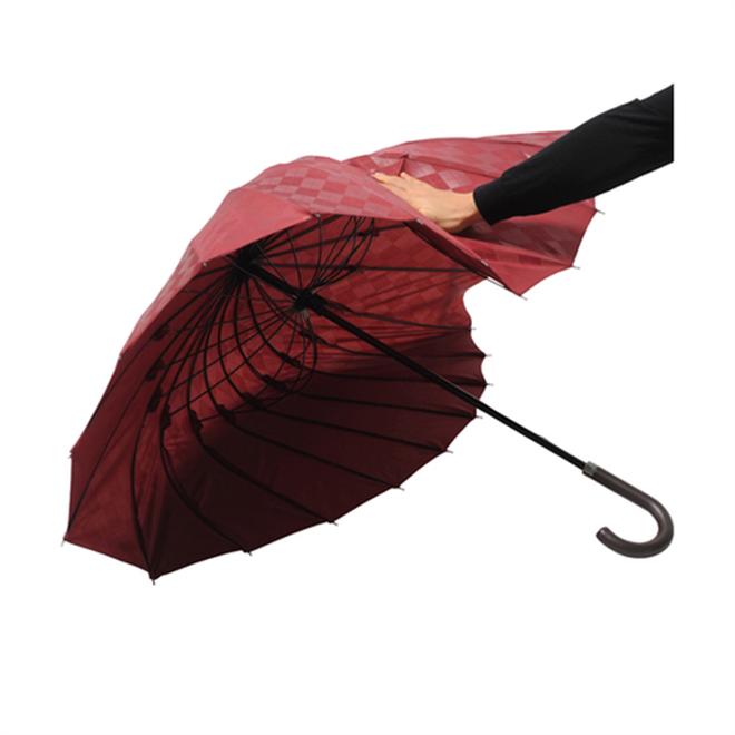 和の美しさと軽量ながら強さを兼ね備えた傘 mabu 超軽量24本骨傘007