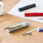 スリムな工具箱みたいなペンケース ベンディン 金属ペンケース