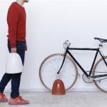 信楽焼の和風な自転車スタンド カチコチ TRIP