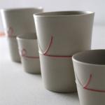 日本の伝統「水引」が入ったコップとおちょこ JUNIO mizuhiki