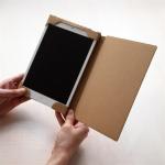 そのまま使うも良しカスタマイズするも良し ダンボールのiPad miniケース