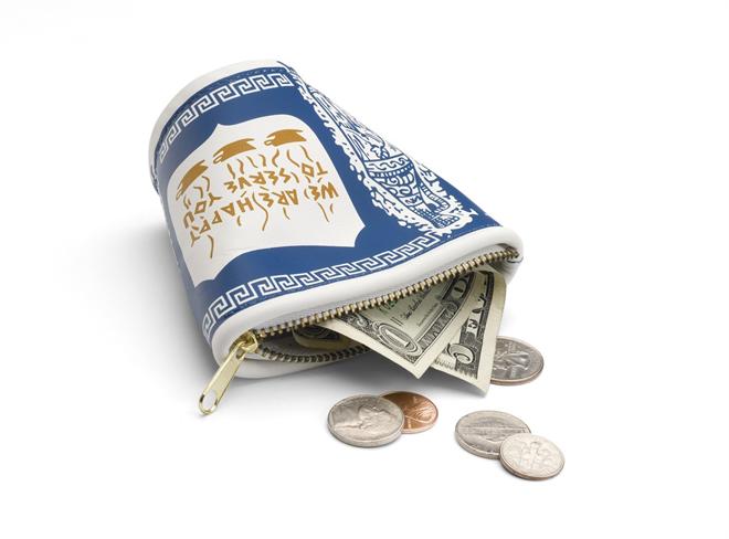 ニューヨークで定番の紙コップがお財布に lucky beggar wallet 001