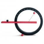 磁石で浮く球と円のカレンダー MoMA Perpetual Calendar