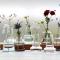 シンプルながらも個性的なガラスの花瓶 Holmegaard / Flora ベース003