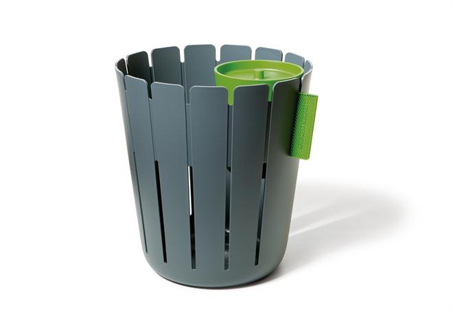 ゴミ箱にひっかける小さなゴミ箱 コンスタンチン バスケットビン003